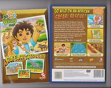 GO DIEGO GO SAFARI RESCUE PLAYSTATION 2 PS2 PS 2