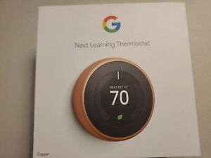 [BOX ONLY] Google Nest Learning Thermostat (3rd Gen): Copper