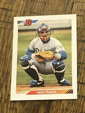 MIKE PIAZZA RC LOT 1992 BOWMAN #461 DODGERS