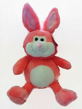 "Bunny Rabbit Plush Stuffed Animal 16"" Neon Melon Chubby New"