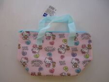 Hello Kitty insulated aluminum cooler lunch bag