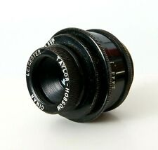 Taylor Hobson Cinar 1 Inch 25mm f2.8 Leicester C Mount Lens Suitable For Bolex