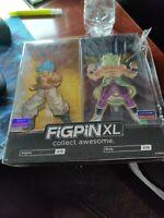 SDCC 2019 - Figpin XL: Gogeta & Broly - Dragon Ball - Funimation Exclusive