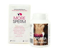 More Sperm 60 Tabs Spermaerhöhung Potenzmittel Ejakulation Spermamenge erhöhen