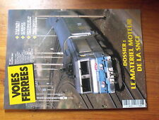 $$µ Revue Voies Ferrees N°161 record vitesse  TGV Est  VTU Corail  Beziers-Neuss