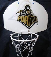 Mini Basketball Hoop for Over Door Wall Mount Purdue W/ Glow Ball