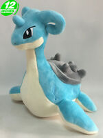12'' Wow Pokemon Lapras Plush Anime Stuffed Doll Toy Game Cartoon PNPL3409