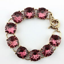 Candy Crystal Dot Studs Vintage Cute Classic Crystal Rould Dot Bracelets Bangles