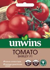 Unwins Pictorial Packet - Tomato (Round) Shirley F1 - 12 Seeds