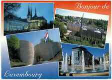 Luxembourg French Souvenir Postcard 2006 FIFA Soccer Football World Cup Stamp