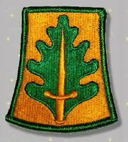 800th Military Police Brigade embroidered patch US Army