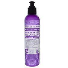 Dr Bronners Organic Lavender & Coconut Lotion 236ml X 2