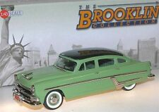 BROOKLIN BRK 174, 1954 Hudson Hornet 4-Door Sedan, 2-tone green, 1/43