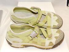 Merrell Green 38.5 Mint green Mesh Athletic Hike Trail Walking Shoe NO INSOLE