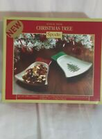 Spode Christmas Tree Bell Dishes