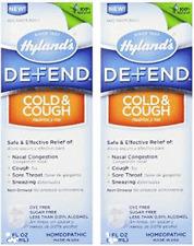 Hylands Defend Cold & Cough 4 fl oz (Paks of 2)