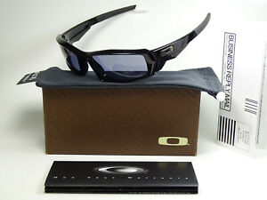 Oakley Canteen Black Grey Sonnenbrille Fuel Cell Gascan Straight Jacket Racing X