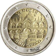 Pièce  2 euros commémorative ITALIE 2017 - 400 ans Basilique Saint-Marc à Venise