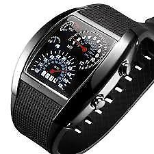 instrument panel Watch Flash LED Military air meter airborne Sports Car Meter
