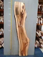 Waney Edge Live Edge Walnut Slab Board Kiln Dried Hardwood 2000 x 300-430 x 50mm