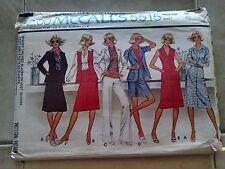 McCall's 5515 Misses Blazer Vest Blouse Skirt Pants Shorts Size 18 Uncut