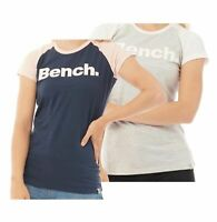 Ladies Bench Cotton Printed Short Sleeve Jersey T Shirt Sizes from 8 to 16