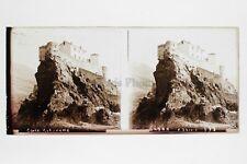 Corte Corse Plaque verre STEREO Positif 6x13cm Vintage