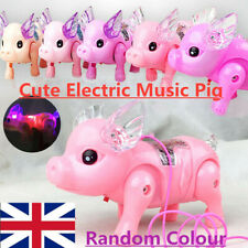 SODIAL Electronic LED Pig - Pink