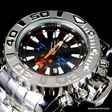 Invicta Sea Hunter Gen II Swiss Mvt Black High Polished Steel 70mm Watch New