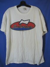 Vintage BAND T-SHIRT LOUISIANA HardLucy HARD LUCY BUDWEISER BEER 1999 Stained L