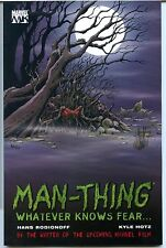 Man Thing: Whatever Knows Fear, First Printing. Paperback