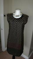 Nice Things By Paloma S. 100% Pure Silk Dress Size 38, UK 12