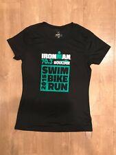 Ironman 70.3 Boulder 2015 Finisher Shirt Womens Sz. M Black