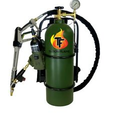 X15 Flamethrower legal to own sprays 50 ft, uses gas/diesel mix (Green)