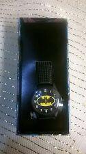 DC COMICS BATMAN ANALOG WATCH IN COMIC STRIP BOX