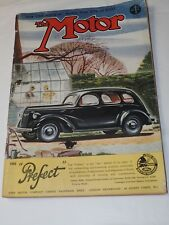 """THE MOTOR Magazine 1939 CAR REVIEW & """"The Perfect"""" London England Feb.7,1939"""