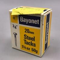 Vintage Bayonet Steel Tacks Packaging Advertising Design Empty Box