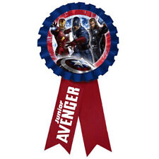 AVENGERS GUEST OF HONOR RIBBON ~ Birthday Party Supplies Favors Award Marvel