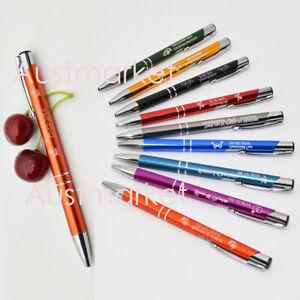 Custom Engraved Personalised Metal Pens wedding birthday gift Business Bombonier