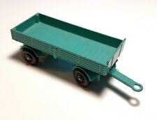 Vintage Lesney MATCHBOX Regular Wheels #2 Mercedes Trailer Green 1/64 Diecast