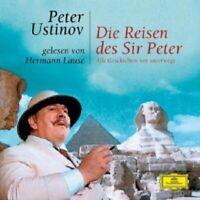 HERMANN LAUSE - PETER USTINOV-DIE REISEN DES SIR PETER  2 CD  HÖRBUCH  NEW