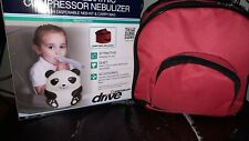 Black Panda Bear Child Pediatric Neb Compressor Treats Asthma Copd, Mq6003R