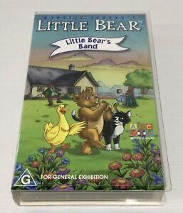 Little Bear VHS Little Bears Band ABC For Kids Maurice Sendak