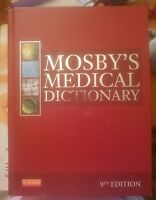 Mosby's Medical Dictionary by Mosby (2012, Hardcover)