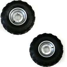 19x7-8 + 18x9.5-8 Front Rear Tyre Tire + Rim Electric Go kart ATV Buggy Trailer
