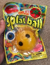 Splat Ball Smiley Face ~ Toss It! Watch It Splat!