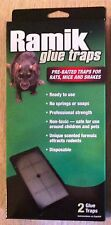 Ramik large glue traps rat mice snake trap 2traps mouse rats snakes gluetrap