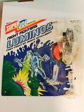 Vintage GI Joe Super Joe Luminos 9in Figure complete 1977 Hasbro MOC