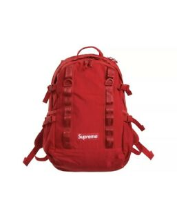 Supreme Backpack FW20 Dark Red - Authentic SOLD OUT* SS20 Still SEALED