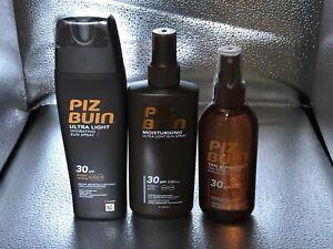 550 ml PIZ BUIN SPF 30 Ultra Light Hydrating + Moisturising Sun Spray + Tan & Pr
